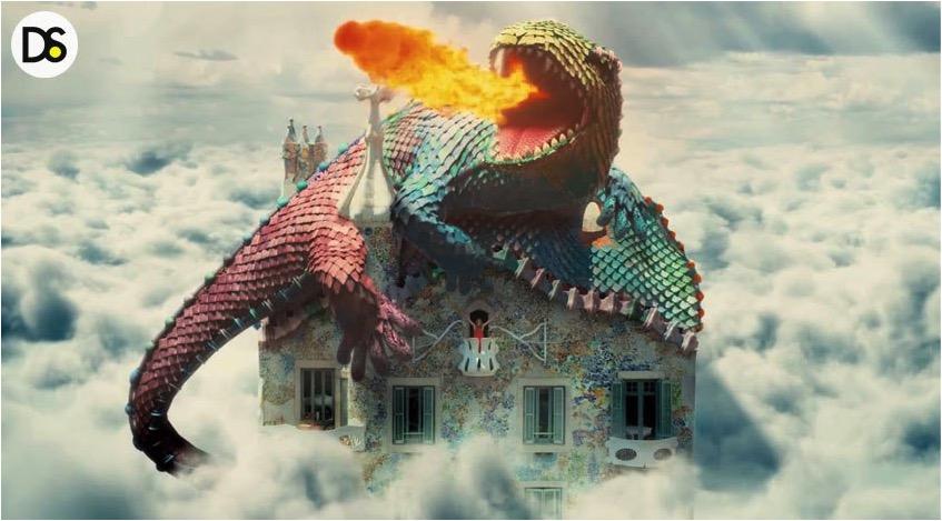 Dragon Alive In Casa Batll 243 At Barcelona D Signers