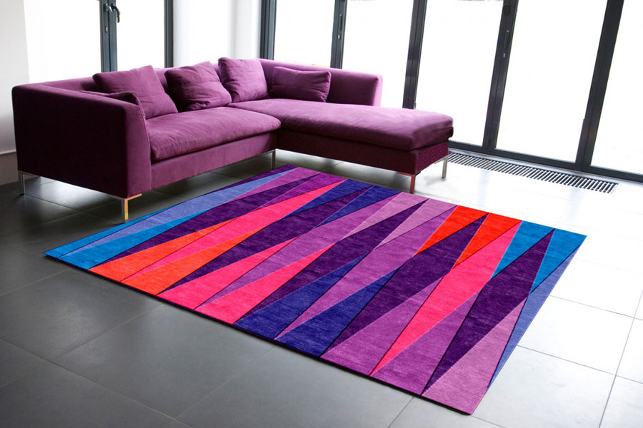 Tri Angles Rug Designed By Sonya Winner D Signers