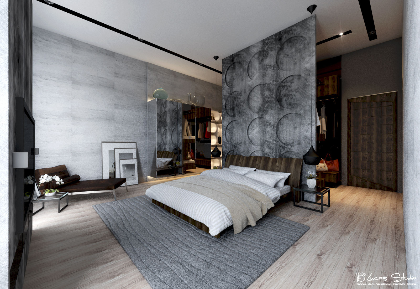 10 Beautiful Examples Of Bedroom Accent Walls - D.Signers