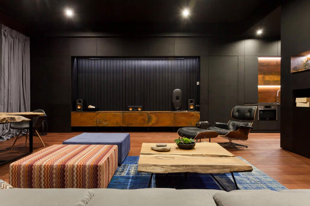 Loft with oriental motives dramatic and ultra modern d for Interieur ultra design