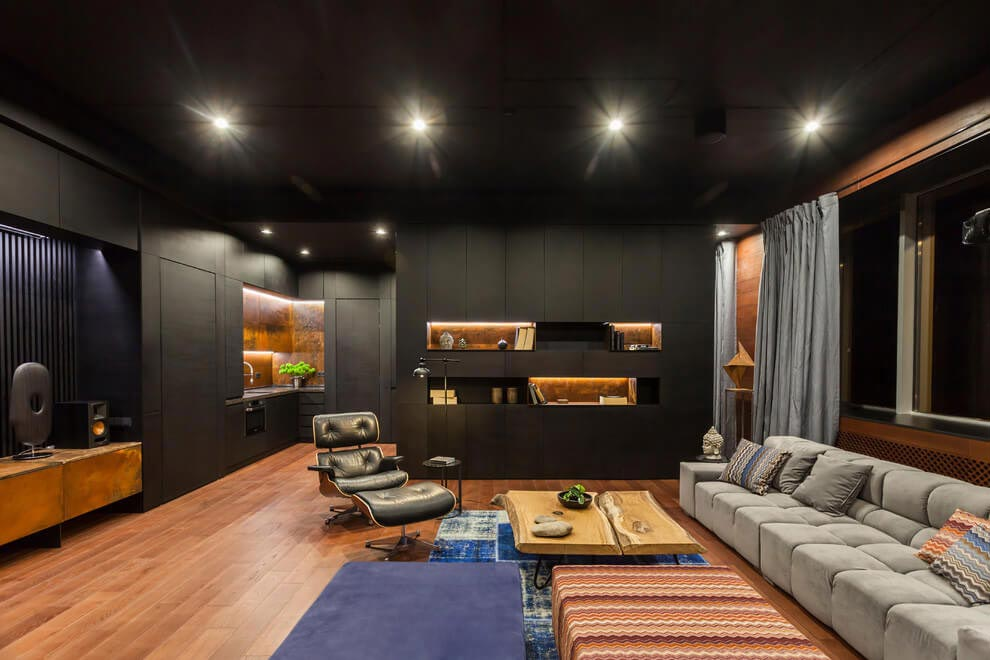 Loft With Oriental Motives Dramatic And Ultra Modern D Signers