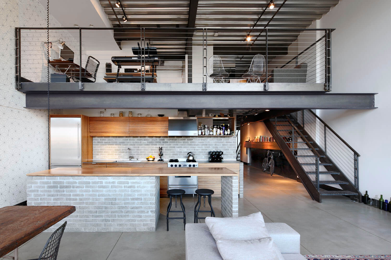 Loft Apartment By Shed Architecture