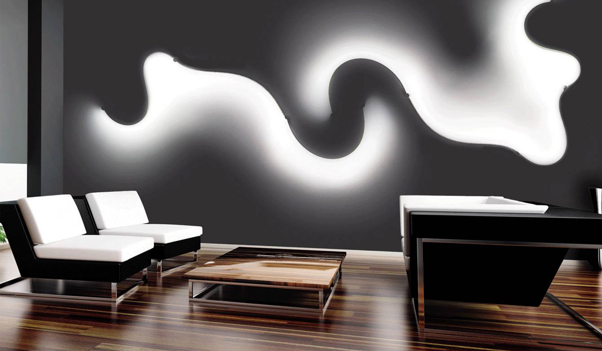 10 of the most modern and sculptural lamps d signers. Black Bedroom Furniture Sets. Home Design Ideas