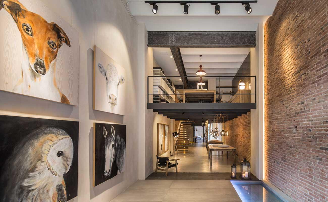Interior design studio espai par s in barcelona by - Meritxell ribe ...