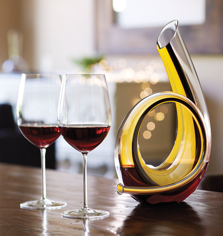Decanters Horn Decanter Riedel Crystal