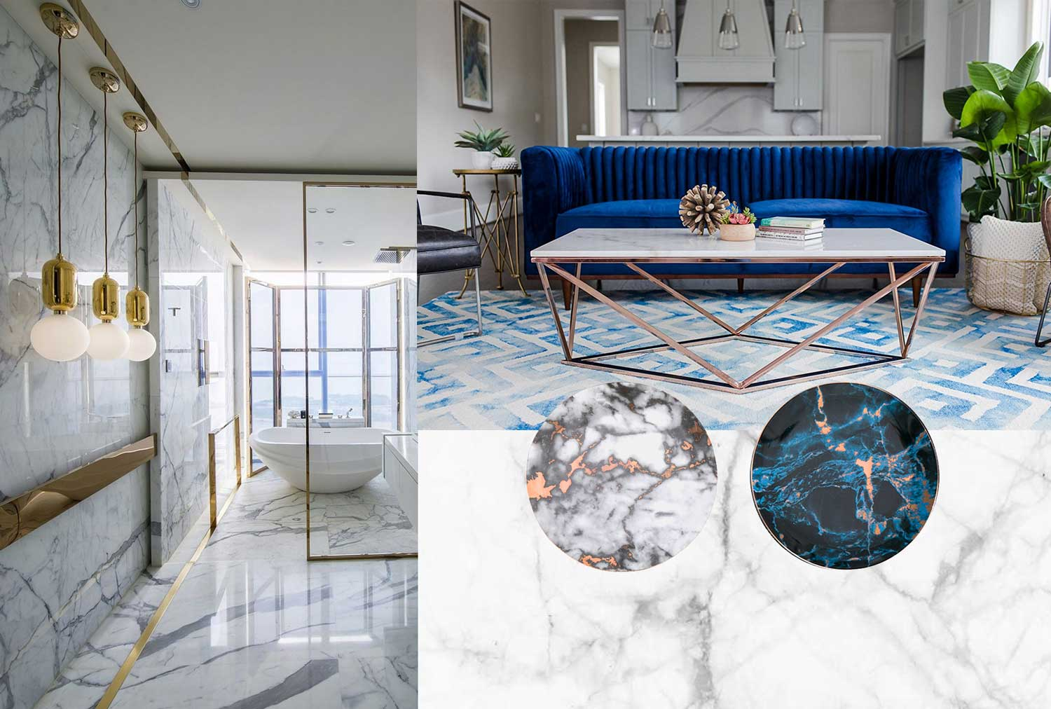 Marble Home Decor: 15 Ways To Incorporate Marble Into Your Home