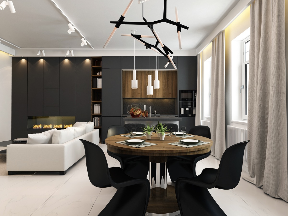 dining chairs set of 4. Black-dining-chairs-set-of-4 Dining Chairs Set Of 4
