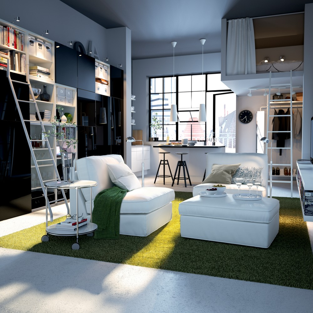 Small apartments design inspiration