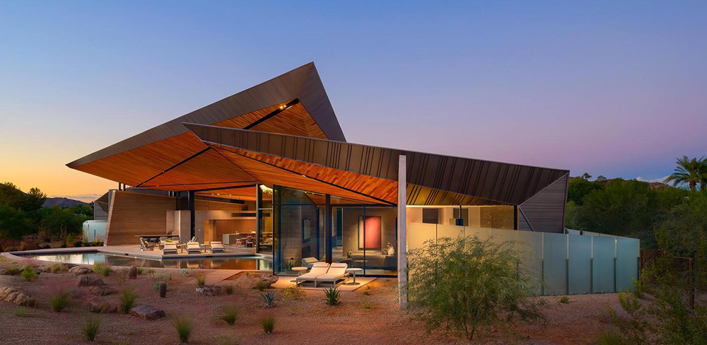 House in Arizona: Celebrates nature through creative contemporary ...