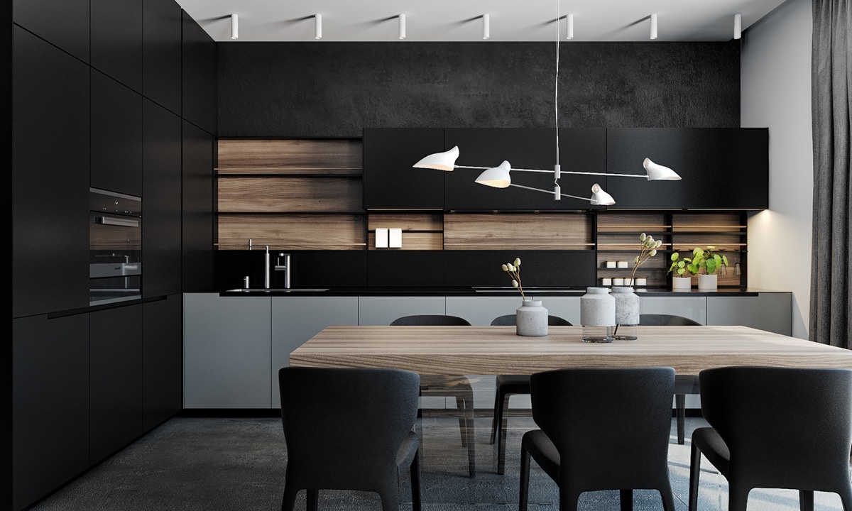 Top Design Keukens : Dark kitchen top designs to fall in love with d signers