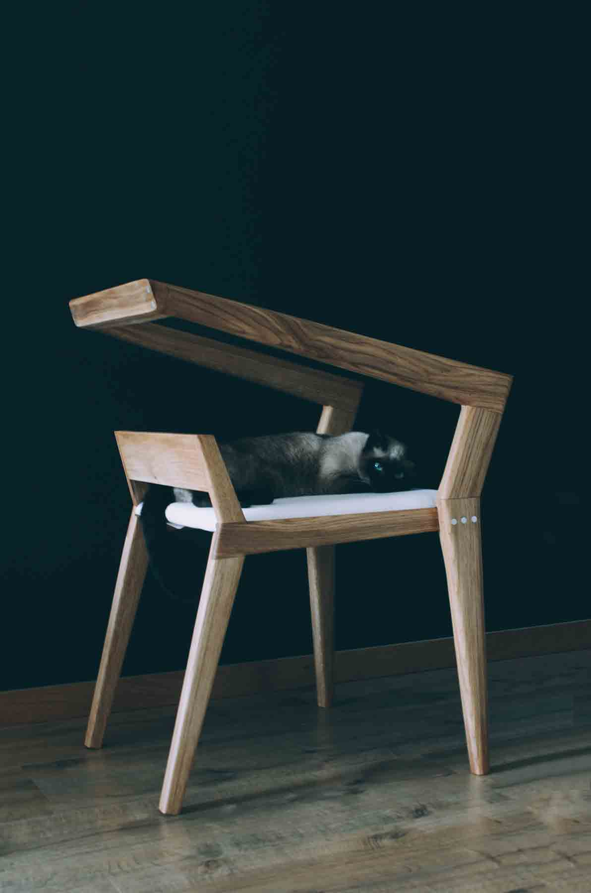 H Chair A Contemporary Furniture Inspired From Mid Century Design D Signers