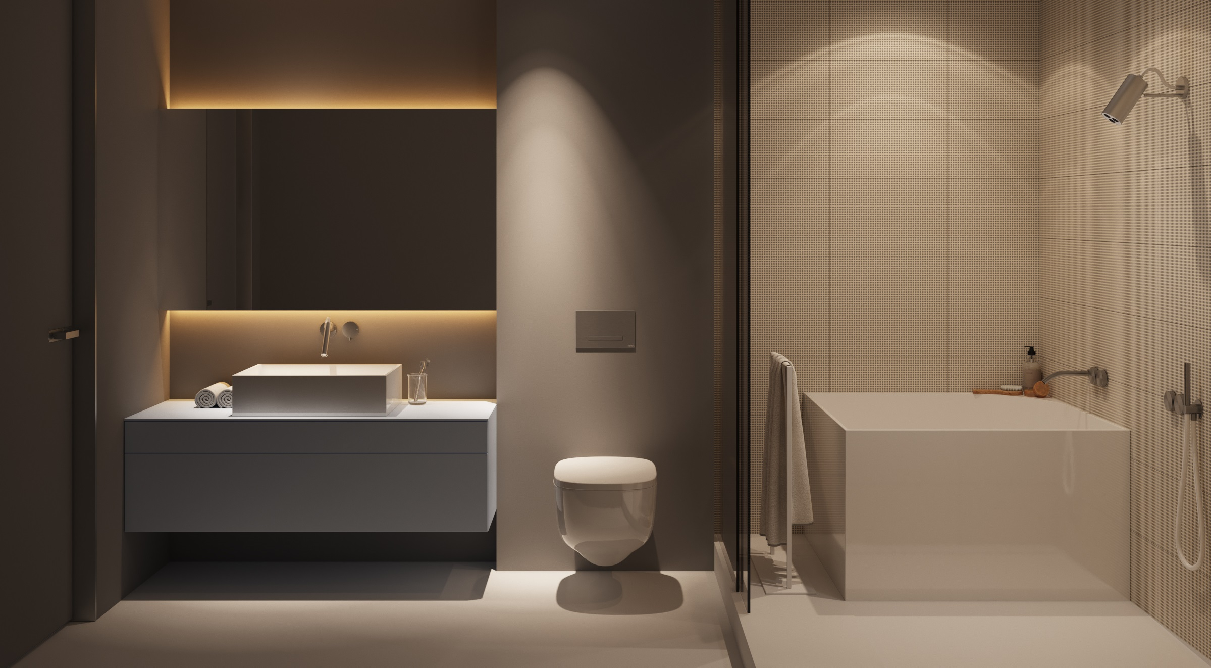 top 5 modern bathrooms: a minimal lifestyle - d.signers