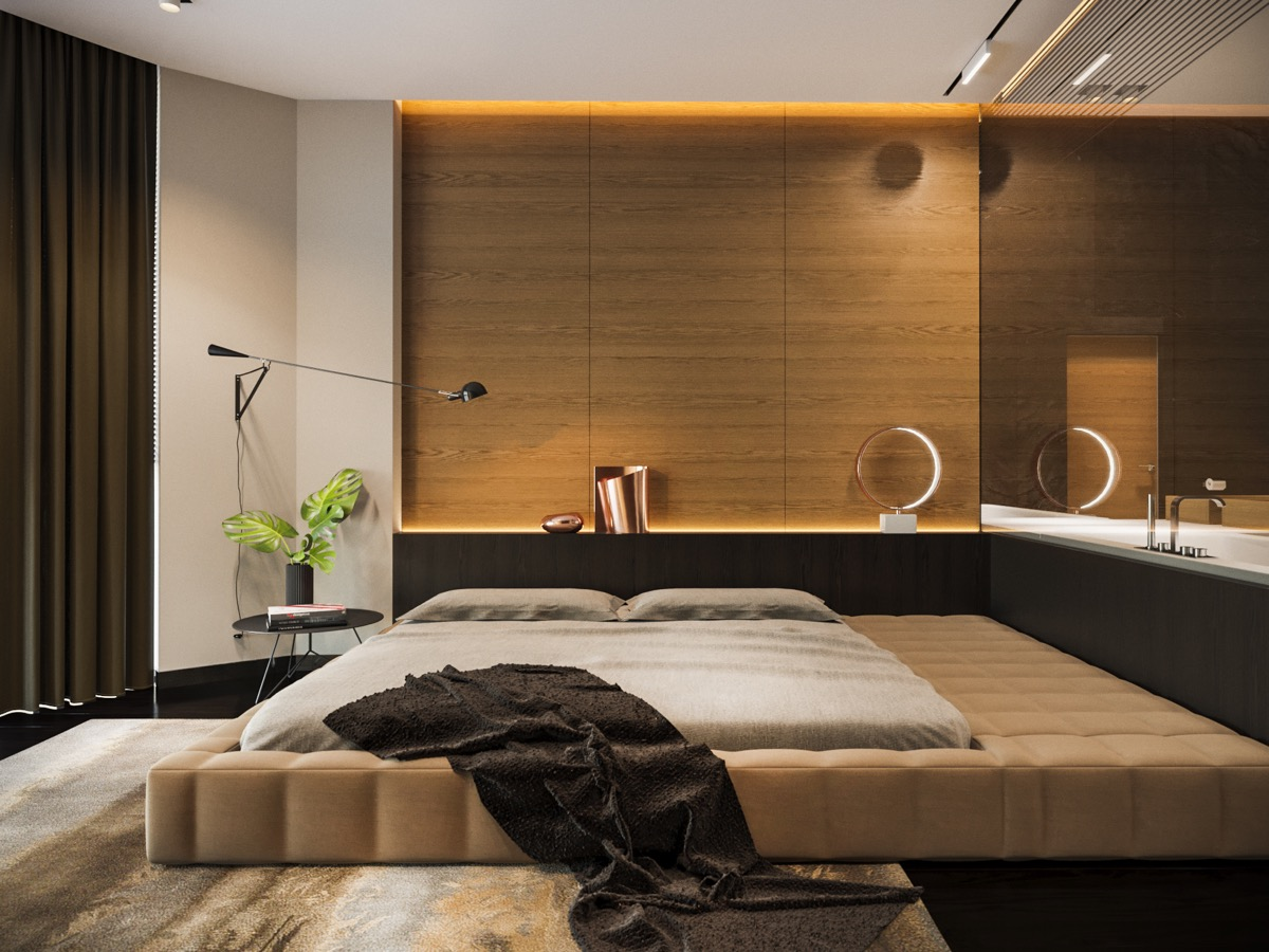 contemporary-wooden-wall-panels-for-the-bedroom - D.Signers