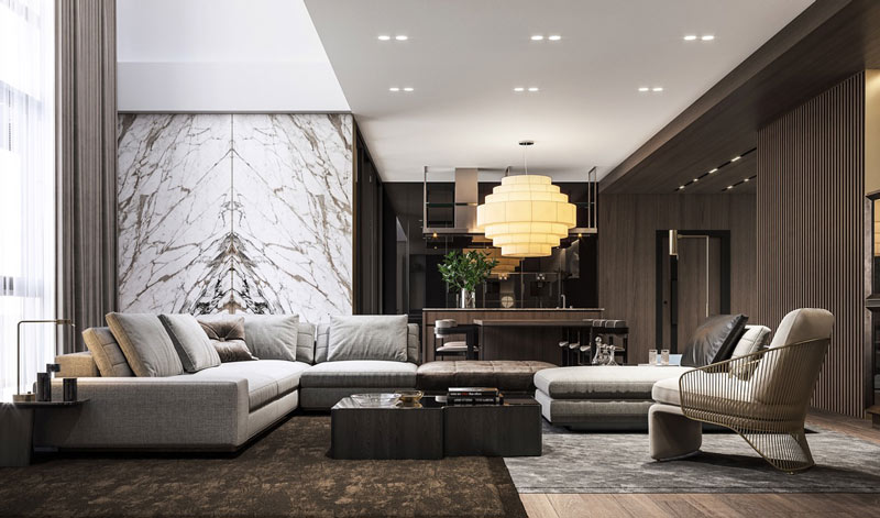 Luxury Living Rooms: TOP 15 Designs That Will Amaze You! - D ...