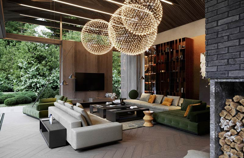 Luxury Living Rooms Top 15 Designs