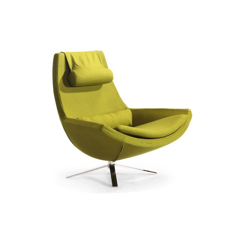 beautiful swivel club chairs | 10 Lounge Chairs to Complete Your Contemporary Home - D ...