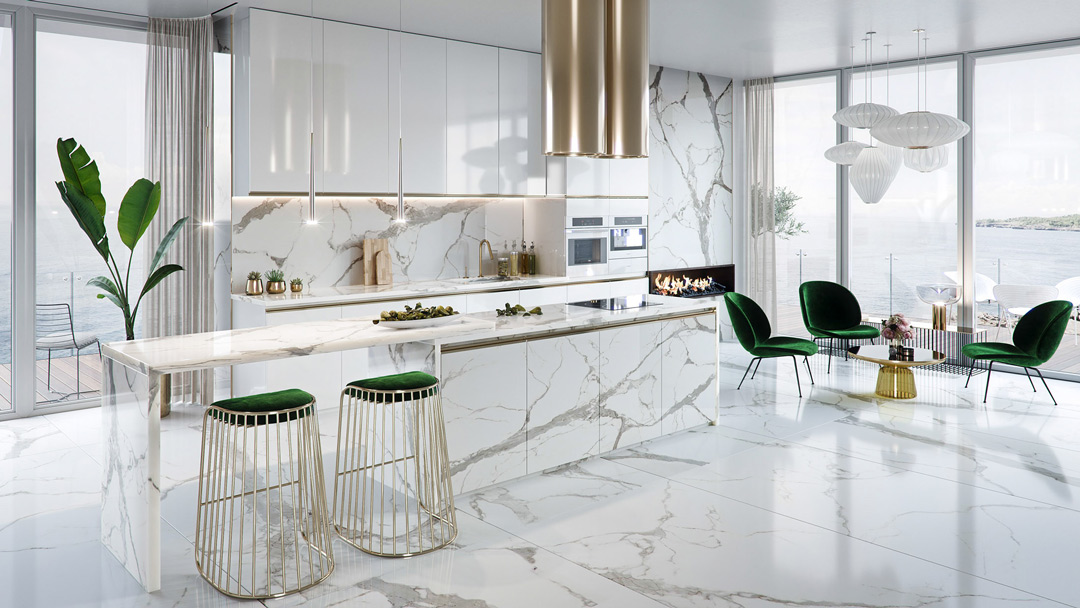 Luxury kitchen: 10 Designs to Love! - D.Signers