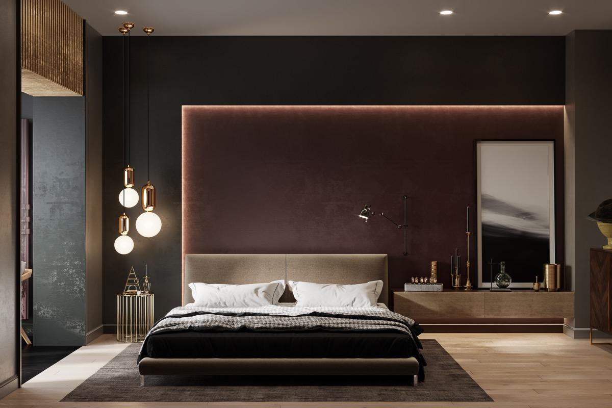 innovative bedroom closet design ideas | modern-contemporary-bedroom - D.Signers